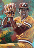 Dave Winfield - Minnesota autographed limited edition print