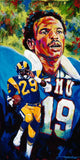 Eric Dickerson autographed limited edition print