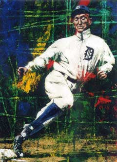 Ty Cobb Dream Team limited edition giclee print