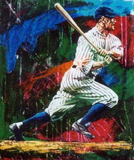 Lou Gehrig Dream Team limited edition giclee print