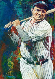 Babe Ruth Dream Team limited edition giclee print