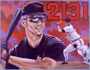 Reflections of Excellence limited edition print featuring Cal Ripken