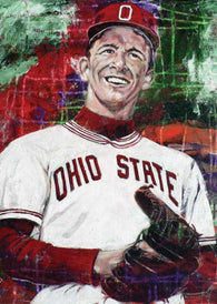 Steve Arlin - Ohio State autographed limited edition print