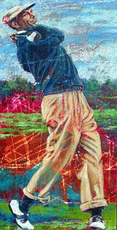 Golf Legends Series Ben Hogan fine art print
