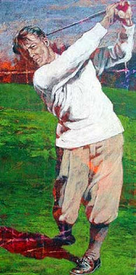 Golf Legends Series Bobby Jones fine art print