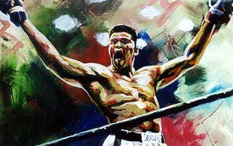 Ali the Greatest fine art print of Muhammad Ali