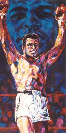 Homage to Ali fine art print of Muhammad Ali
