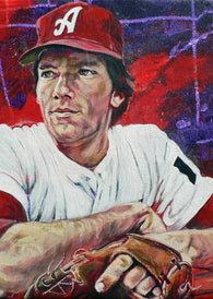 Dave Magadan - University of Alabama autographed limited edition print