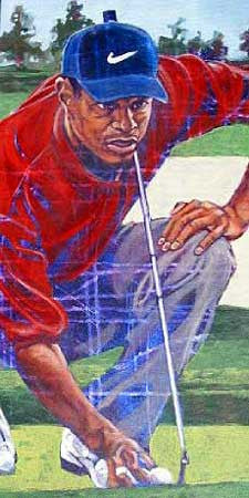 Golf Legends Series Tiger Woods fine art print