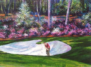Bunker Shot 15 golf print