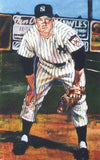 Yankees Series Mickey Mantle fine art print