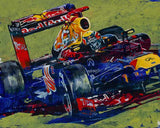 Formula One Series: Red Bully fine art print