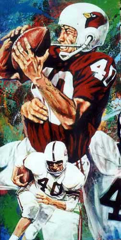 Bobby Joe Conrad autographed limited edition print