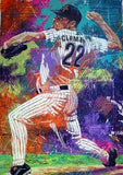 Roger Clemens Houston Astros fine art print