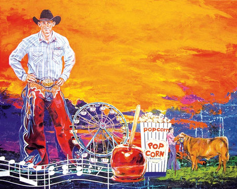 Rodeo Austin 2009 poster
