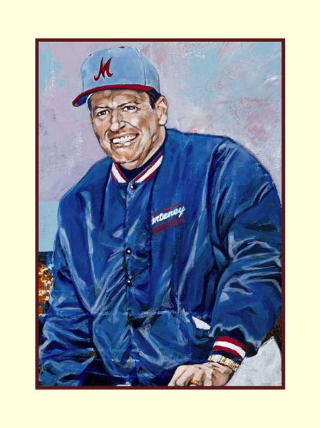 Bobby Moegle autographed limited edition fine art print signed by Moegle