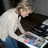 Kim Mulkey autographed limited edition print