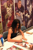 Mia Hamm autographed limited edition print