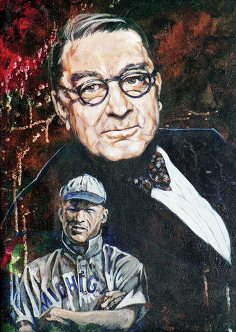 Branch Rickey - Michigan fine art print