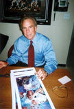 Roger Staubach autographed limited edition print