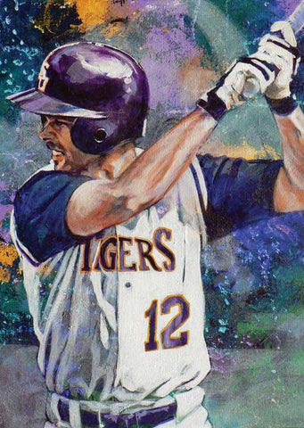 Todd Walker - LSU autographed limited edition print