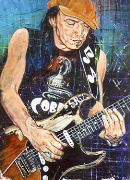 Stevie Ray Vaughan Cobra fine art print