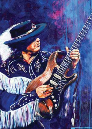 Stevie Ray Vaughan Crying fine art print