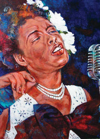 Billie Holiday fine art print