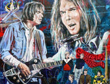 Neil Young Decades fine art print