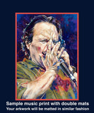 Bruce Channel autographed limited edition fine art print