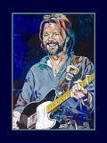 Ronnie Dunn autographed limited edition fine art print signed by Dunn