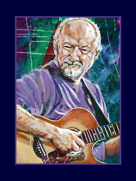 Sonny Curtis autographed limited edition fine art print signed by Curtis
