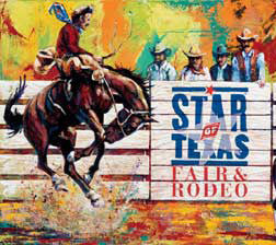 Star of Texas Fair and Rodeo 2003 poster