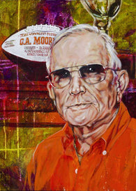G.A. Moore Jr. autographed limited edition fine art print