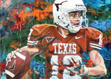 In The Pocket (Colt McCoy) fine art print