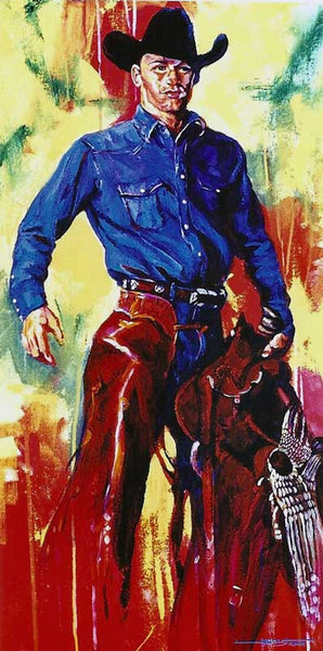 Ty Murray autographed limited edition print