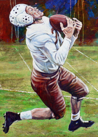 Noble Doss former University of Texas Longhorn fine art print