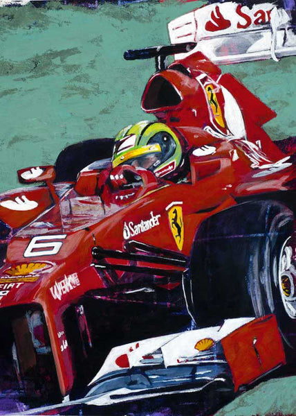 Formula One Series: Team Ferrari fine art print