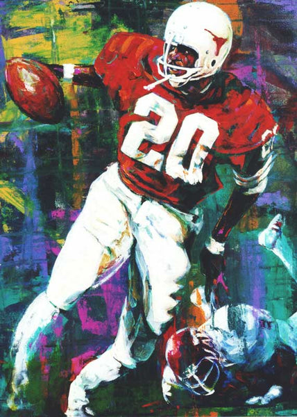 Rambling Rose fine art print featuring Earl Campbell
