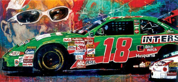 Bobby Labonte autographed limited edition print