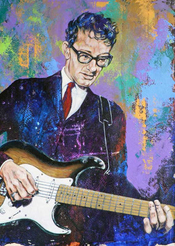 Buddy Holly fine art print