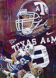 Dat Nguyen autographed limited edition fine art print signed by Nguyen