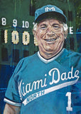 Demie Mainieri - Miami-Dade North Community College autographed fine art print signed by Mainieri