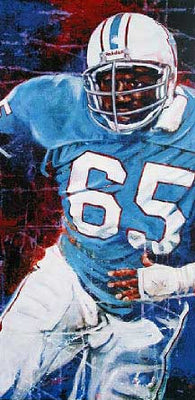 Elvin Bethea autographed limited edition print