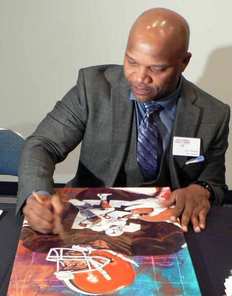 Eric Metcalf autographed limited edition fine art print signed by Metcalf