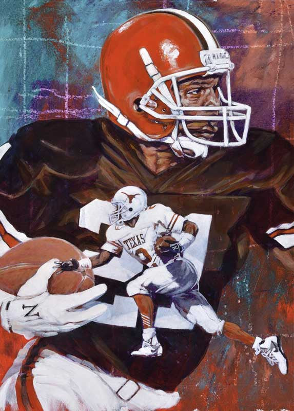 Eric Metcalf Autographed Limited Edition Fine Art Print