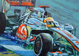 Formula One Series: Team McLaren fine art print