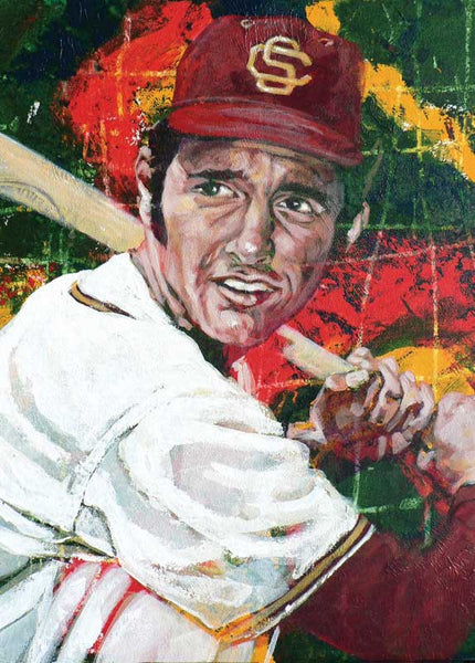 Fred Lynn - USC autographed limited edition print
