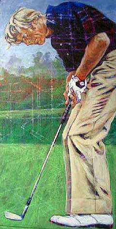 Golf Legends Series Jack Nicklaus fine art print