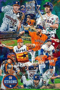 Houston Astros 2017 World Series Team fine art print